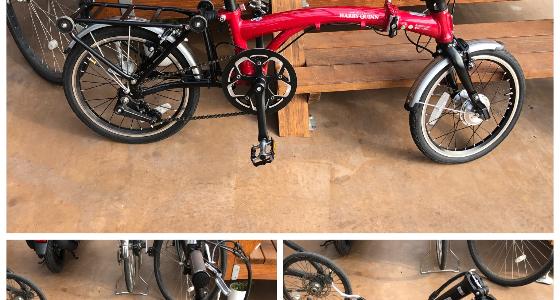 HARRY QUINN(ハリークイン)ポータブルe-bike取り扱い開始!