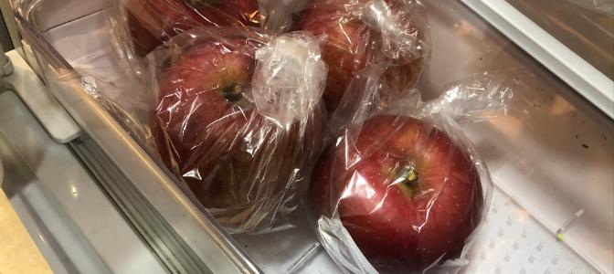 りんごの美味しい保存方法